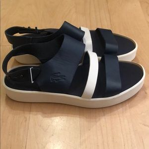 Lacoste leather sandals